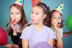 Γιορτή γενεθλίων παιδιών. Στοκ εικόνα με δικαίωμα ελεύθερης χρήσης