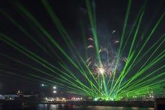 Γιορτή διακοπών επ' ευκαιρία της ημέρας της Βάρνας η πρωτεύουσα θάλασσας της Βουλγαρίας - επίσημες διακοπές στις 15 Αυγούστου Το  Στοκ Εικόνες