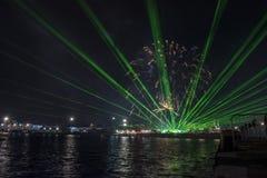 Γιορτή διακοπών επ' ευκαιρία της ημέρας της Βάρνας η πρωτεύουσα θάλασσας της Βουλγαρίας - επίσημες διακοπές στις 15 Αυγούστου Το  Στοκ εικόνα με δικαίωμα ελεύθερης χρήσης