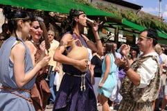 γιορτή Ισπανία του Burgos bacchus Στοκ Εικόνες