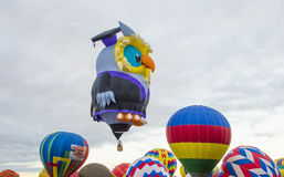 Γιορτή μπαλονιών του Αλμπικέρκη Στοκ Φωτογραφίες