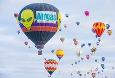 Γιορτή μπαλονιών του Αλμπικέρκη Στοκ Εικόνες