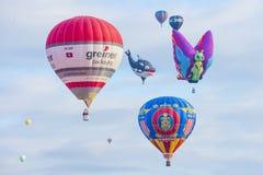Γιορτή μπαλονιών του Αλμπικέρκη Στοκ φωτογραφίες με δικαίωμα ελεύθερης χρήσης