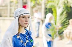 Γιορτή του ST Giustina στην Ιταλία Στοκ εικόνα με δικαίωμα ελεύθερης χρήσης