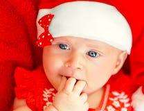Γιορτή Χριστουγέννων παιδιών Στοκ εικόνες με δικαίωμα ελεύθερης χρήσης