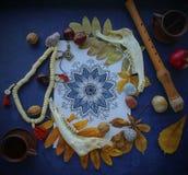 Γιορτή Samhain ` s του φθινοπώρου και της συγκομιδής Στοκ Εικόνες