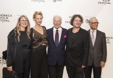 Γιορτασμένοι βρετανικοί δράστες Janet McTeer και Christopher Plummer στη πρεμιέρα ταινιών Tribeca του 2017 ` η εξαίρεση ` Στοκ φωτογραφία με δικαίωμα ελεύθερης χρήσης