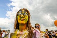 Γιορτασμένος ως φεστιβάλ των χρωμάτων στοκ εικόνες