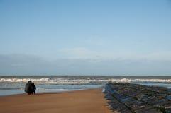 γιος θάλασσας πατέρων Στοκ φωτογραφίες με δικαίωμα ελεύθερης χρήσης