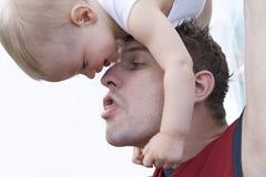 γιος πατέρων στοκ φωτογραφία