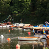 Γιοτ και βάρκες Στοκ Εικόνες