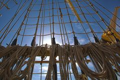 Γιοτ και βάρκες Στοκ Φωτογραφίες