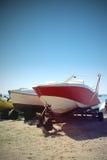Γιοτ και βάρκες Στοκ Φωτογραφία