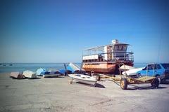 Γιοτ και βάρκες Στοκ φωτογραφία με δικαίωμα ελεύθερης χρήσης