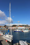 Γιοτ και μικρές βάρκες, λιμάνι Anstruther, Fife Στοκ φωτογραφία με δικαίωμα ελεύθερης χρήσης
