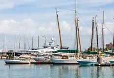 Γιοτ και Sailboats στη Key West Στοκ εικόνα με δικαίωμα ελεύθερης χρήσης