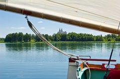 γιοτ λιμνών Στοκ εικόνα με δικαίωμα ελεύθερης χρήσης