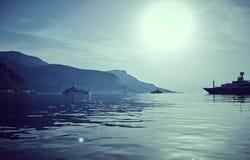 Γιοτ πολυτέλειας Στοκ εικόνες με δικαίωμα ελεύθερης χρήσης
