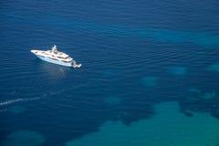 Γιοτ στην αδριατική θάλασσα Στοκ Φωτογραφίες