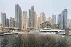 Γιοτ στο λιμάνι του Ντουμπάι, ενωμένα αραβικά εμιράτα Στοκ φωτογραφίες με δικαίωμα ελεύθερης χρήσης