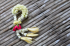 γιρλάντα λουλουδιών Στοκ Εικόνες