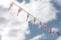 Γιρλάντα των σημαιών σημάτων Στοκ Εικόνα