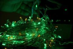 γιρλάντα Χριστουγέννων 2 στοκ εικόνα με δικαίωμα ελεύθερης χρήσης