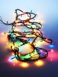 Γιρλάντα Χριστουγέννων Στοκ Φωτογραφία