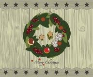 γιρλάντα Χριστουγέννων διανυσματική απεικόνιση
