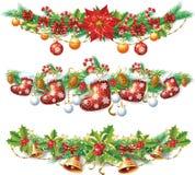 Γιρλάντα Χριστουγέννων Στοκ φωτογραφία με δικαίωμα ελεύθερης χρήσης