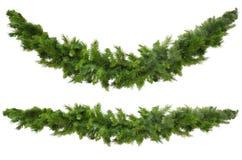 γιρλάντες Χριστουγέννων Στοκ φωτογραφία με δικαίωμα ελεύθερης χρήσης