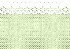 Γιρλάντα ή διακόσμηση στο επισημασμένο σχέδιο - ατελείωτο Στοκ Εικόνα