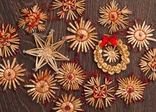 Γιρλάντες Christmass Στοκ φωτογραφία με δικαίωμα ελεύθερης χρήσης