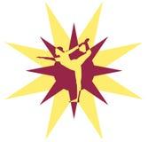 γιόγκα λογότυπων Στοκ Εικόνες