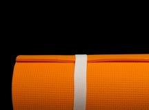 γιόγκα χαλιών pilates Στοκ εικόνα με δικαίωμα ελεύθερης χρήσης