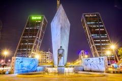Γκέιτς της Ευρώπης στη Μαδρίτη Στοκ Εικόνα