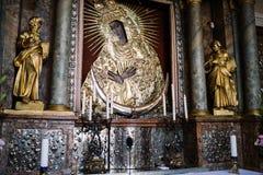 Γκέιτς της Dawn Virgin Mother Icon Στοκ φωτογραφία με δικαίωμα ελεύθερης χρήσης