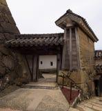Γκέιτς του κάστρου του Himeji σύνθετου Στοκ φωτογραφία με δικαίωμα ελεύθερης χρήσης
