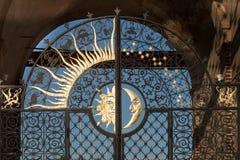 Γκέιτς kazan πύργων Suyumbike του deko πόλεων Ταταρία, ήλιων και φεγγαριών Στοκ φωτογραφίες με δικαίωμα ελεύθερης χρήσης