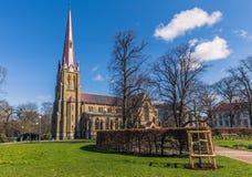 Γκέτεμπουργκ, Σουηδία - 14 Απριλίου 2017: Εκκλησία Haga στο Γκέτεμπουργκ, Στοκ εικόνες με δικαίωμα ελεύθερης χρήσης