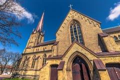 Γκέτεμπουργκ, Σουηδία - 14 Απριλίου 2017: Εκκλησία Haga στο Γκέτεμπουργκ, Στοκ Εικόνες
