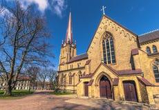 Γκέτεμπουργκ, Σουηδία - 14 Απριλίου 2017: Εκκλησία Haga στο Γκέτεμπουργκ, Στοκ Εικόνα