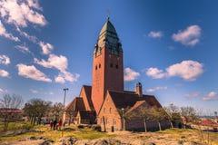Γκέτεμπουργκ, Σουηδία - 14 Απριλίου 2017: Εκκλησία Masthugg σε Gothenbu Στοκ Εικόνα