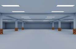 Γκαράζ χώρων στάθμευσης στοκ φωτογραφία με δικαίωμα ελεύθερης χρήσης