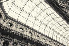 Γκαλερί τέχνης αγορών στο Μιλάνο, Ιταλία Στοκ Εικόνα