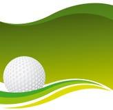 γκολφ ανασκόπησης Στοκ φωτογραφία με δικαίωμα ελεύθερης χρήσης