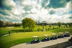 γκολφ αυτοκινήτων Στοκ Εικόνα
