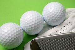 γκολφ γαντιών Στοκ φωτογραφίες με δικαίωμα ελεύθερης χρήσης