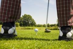 γκολφ λεσχών Στοκ Εικόνες