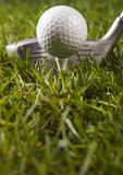 γκολφ οδηγών σφαιρών Στοκ εικόνα με δικαίωμα ελεύθερης χρήσης